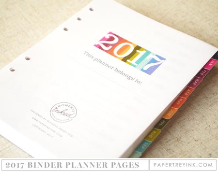 2017 Binder