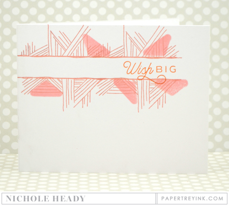 Wish Big Pastels Card