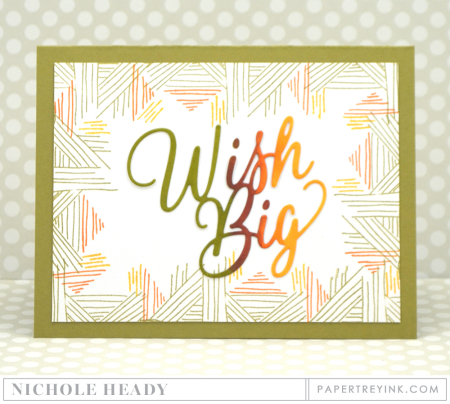 Wish Big Masculine Card