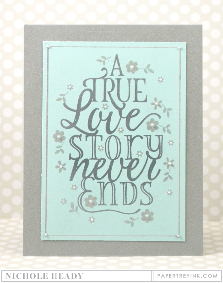 True Love Story Card