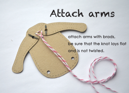 Attaching arms