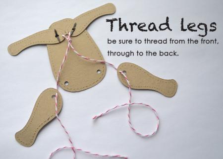 Thread legs