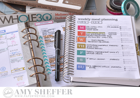 Amy Meal Planner