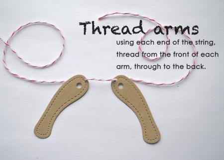 Thread arms