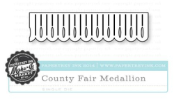 County Fair Medallion die