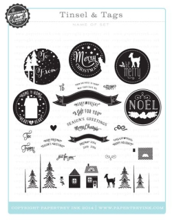 Tinsel & Tags stamps