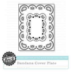 County Fair Bandana Cover Plate die