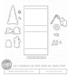 All Throught the House Box Top dies