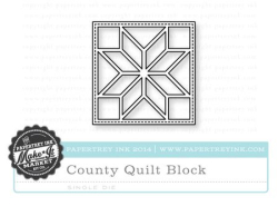 County Fair Quilt Block die
