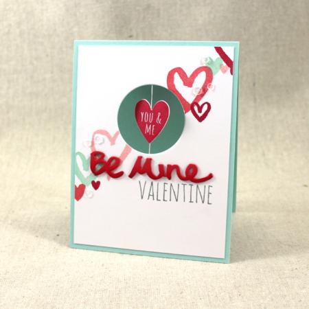 MIM Spinner Valentine Card