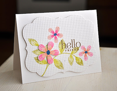 Embroidered Blooms - Maile