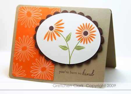 Floral frenzy pumpkin pie