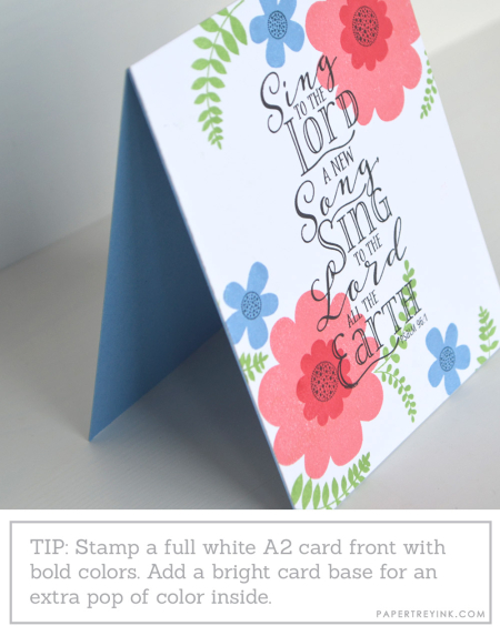 Color card base