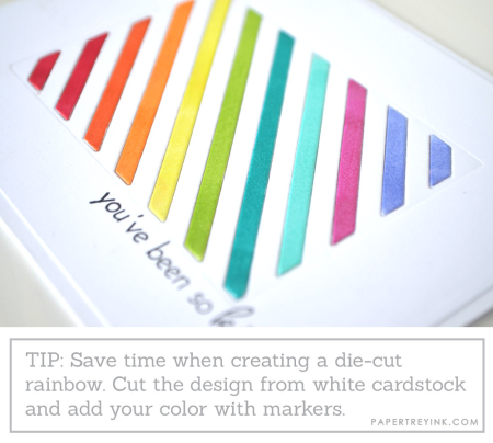 Rainbow tip
