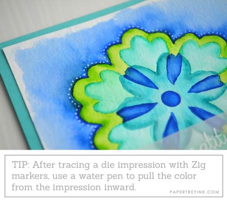 Watercoloring tip