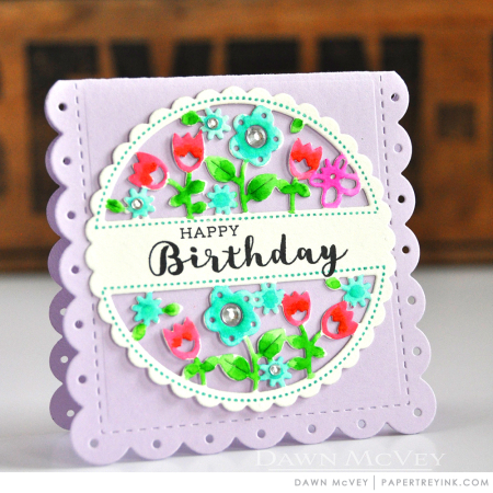 Cutaway Tags-Spring happy birthday