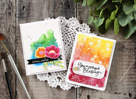 Watercolor Wash Backgrounds by Laurie Schmidlin