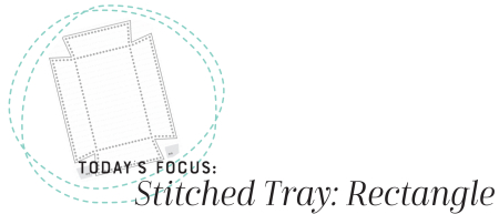 Stitched Tray Rectangle Graphic