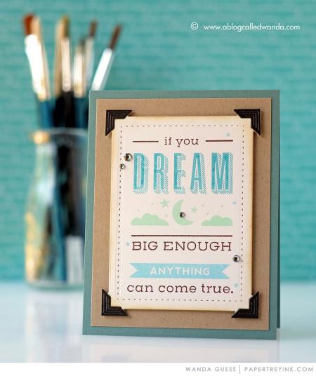 QUOTED DREAM BIG WANDA 5