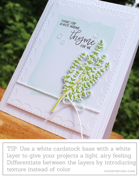 Making Thyme Card 2