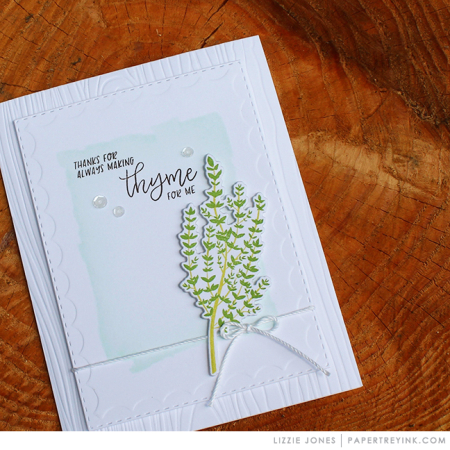 Making Thyme Card 4