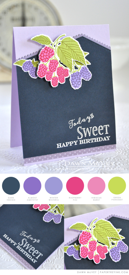 Sweet Birthday by Dawn McVey for Papertrey Ink