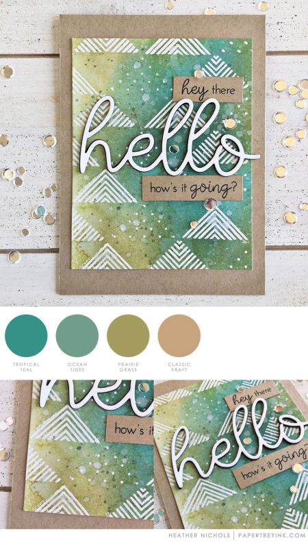 Hey There by Heather Nichols for Papertrey Ink