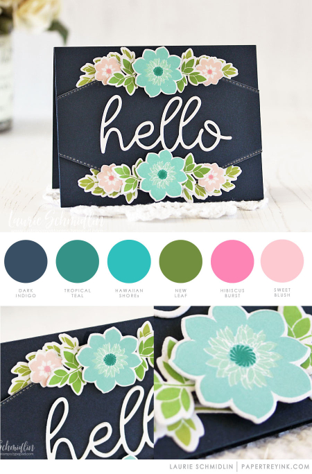 Hello by Laurie Schmidlin for Papertrey Ink