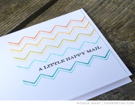 Happy mail detail