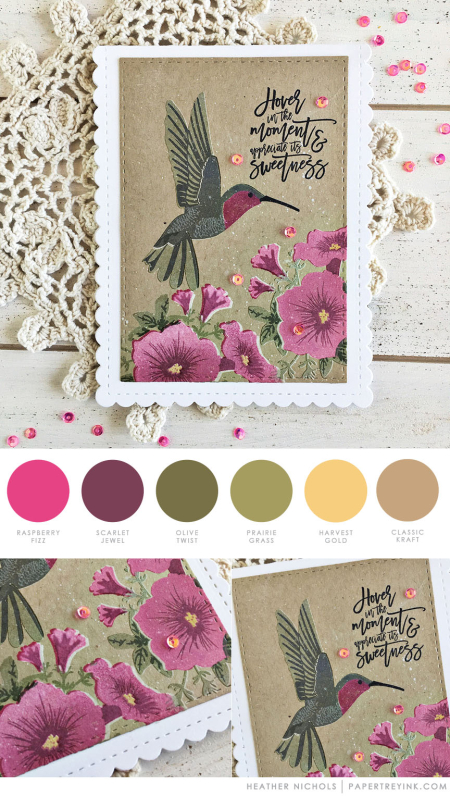 Sweetness by Heather Nichols for Papertrey Ink