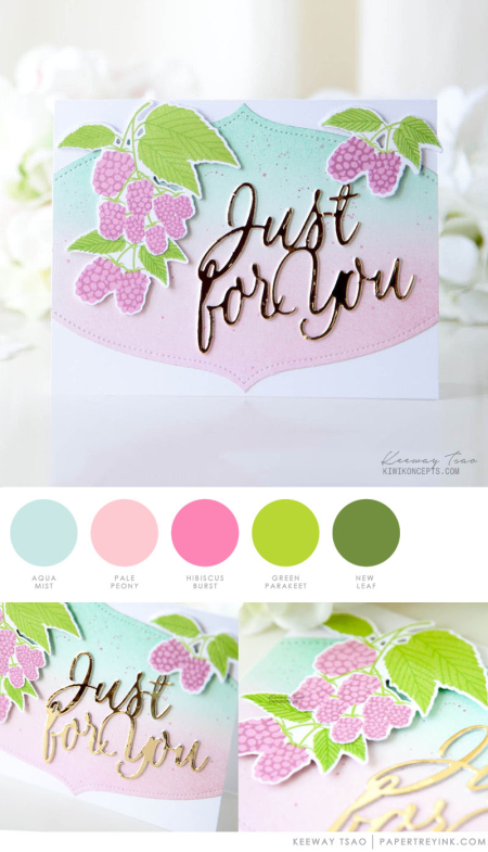 Just For You by Keeway Tsao for Papertry Ink