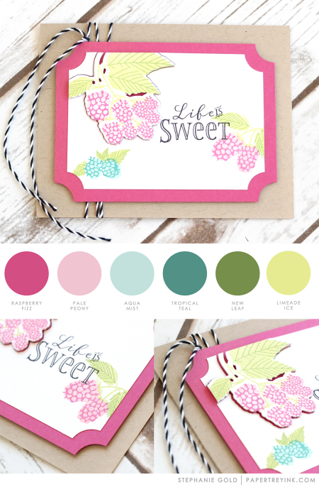 Life is Sweet by Stephanie Gold for Papertrey Ink