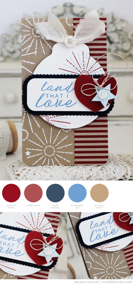 Land That I Love by Melissa Phillips for Papertrey Ink