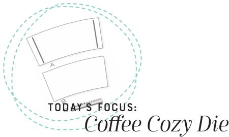 Coffee Cozy Focus Graphic