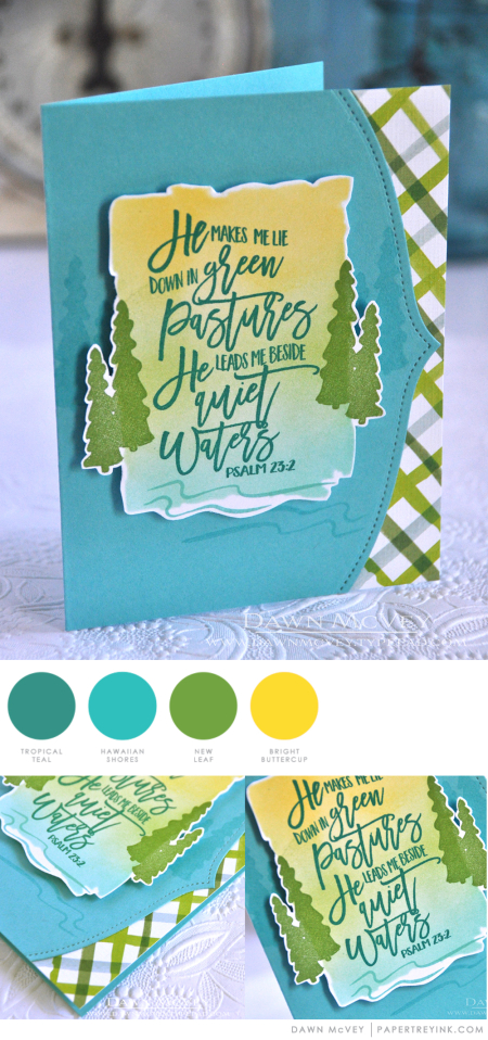 Green Pastures by Dawn McVey for Papertrey Ink
