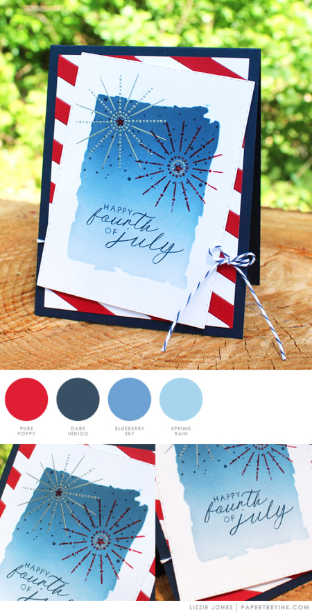 Happy Fourth by Lizzie Jones for Papertrey Ink