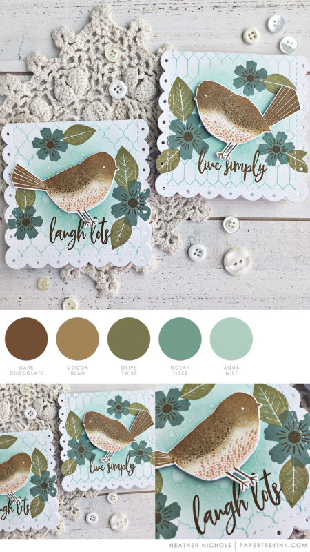 Laugh & Live Tags by Heather Nichols for Papertrey Ink