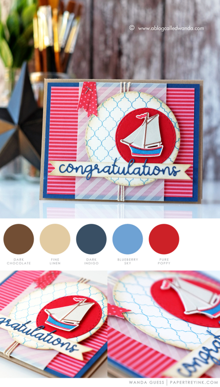 Congratulations by Wanda Guess for Papertrey Ink