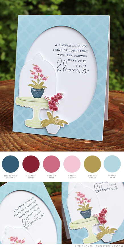 Blooms by Lizzie Jones for Papertrey Ink