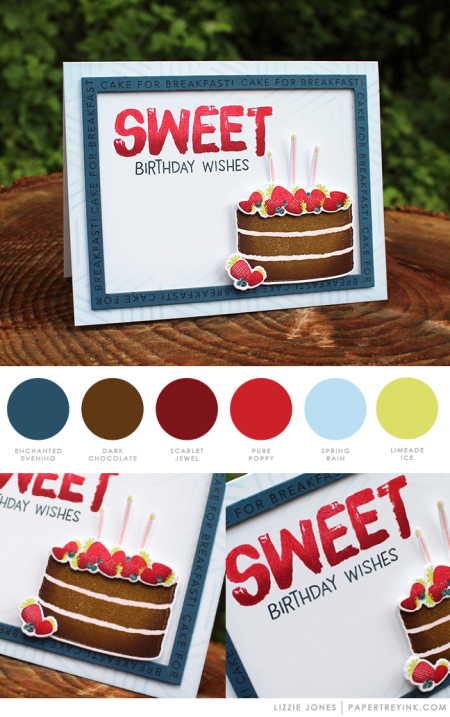 Sweet Birthday by Lizzie Jones for Papertrey Ink