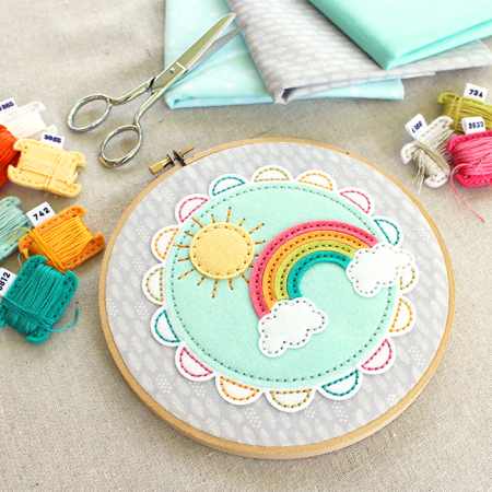Sunshine & Rainbows Hoop 6