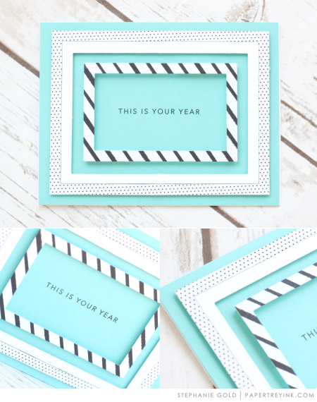 You Year by Stephanie Gold for Papertrey Ink