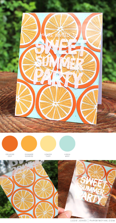 Summer Party by Lizzie Jones for Papertrey Ink