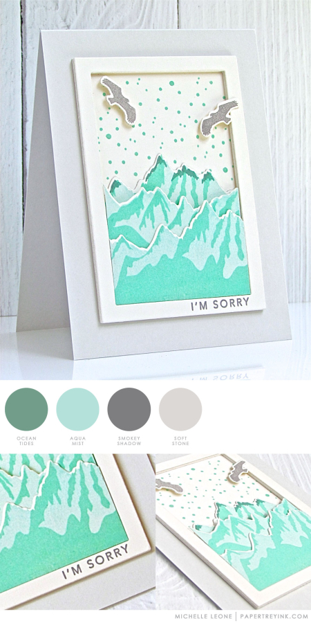 Sorry by Michelle Leone for Papertrey Ink