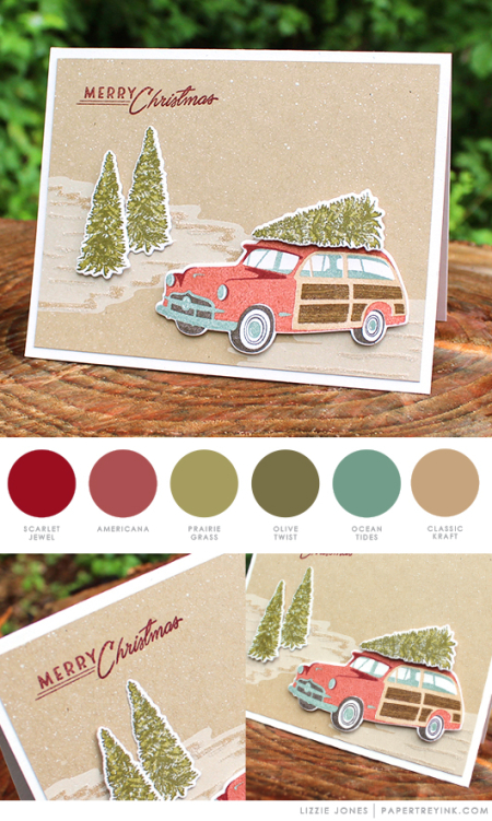 Christmas by Lizzie Jones for Papertrey Ink