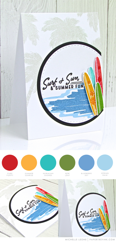 Summer Fun by Michelle Leone for PApertrey Ink