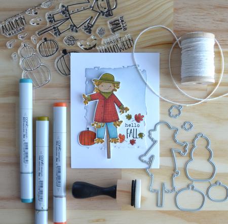 Autumn Scarecrow progress