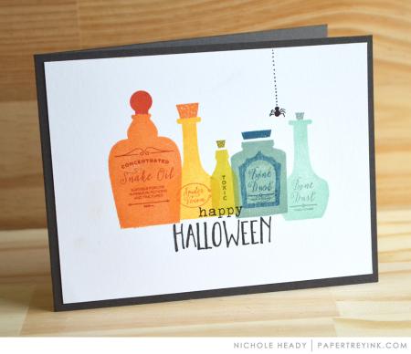 Halloween Elixirs Card