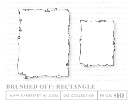 Brushed-off-rectangle-dies