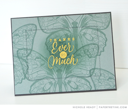 Ocean Tides Thank You Card
